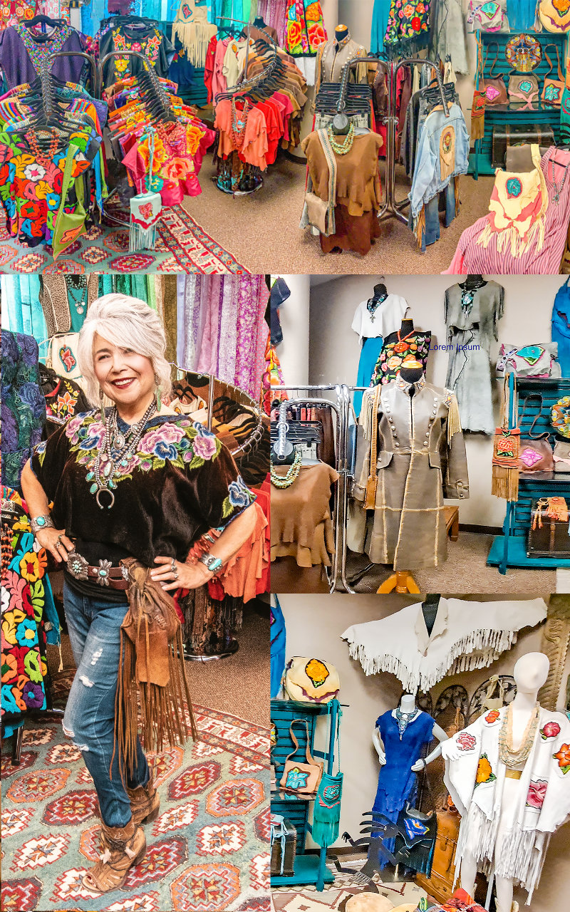 Image Collage of Wild Moon Boutique showroom